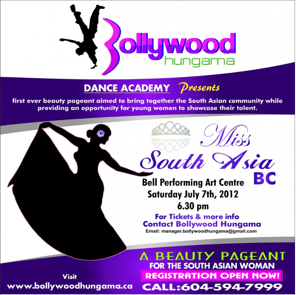 Miss South Asia BC 2012: Beauty Pageant - 604 Now