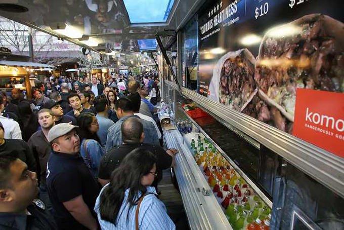Port Moody Food Truck Festival - Columbia StrEAT Food Truck Fest 2014