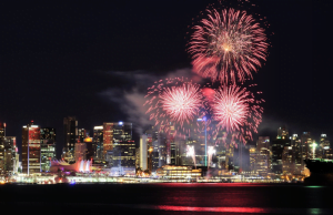 Vancouver Celebration of Light Schedule 2014