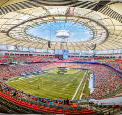 BC Place Ranks In Top 100 Best Football (Soccer) Stadiums Worldwide