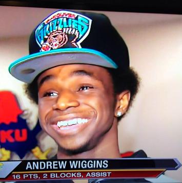 Andrew Wiggins Vancouver Grizzlies