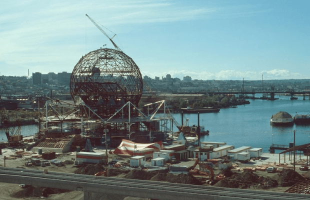 science world under construction