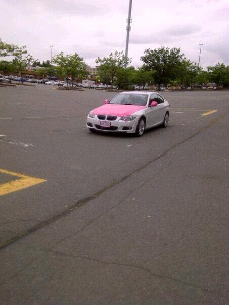 Spotted: Hello Kitty BMW In Richmond
