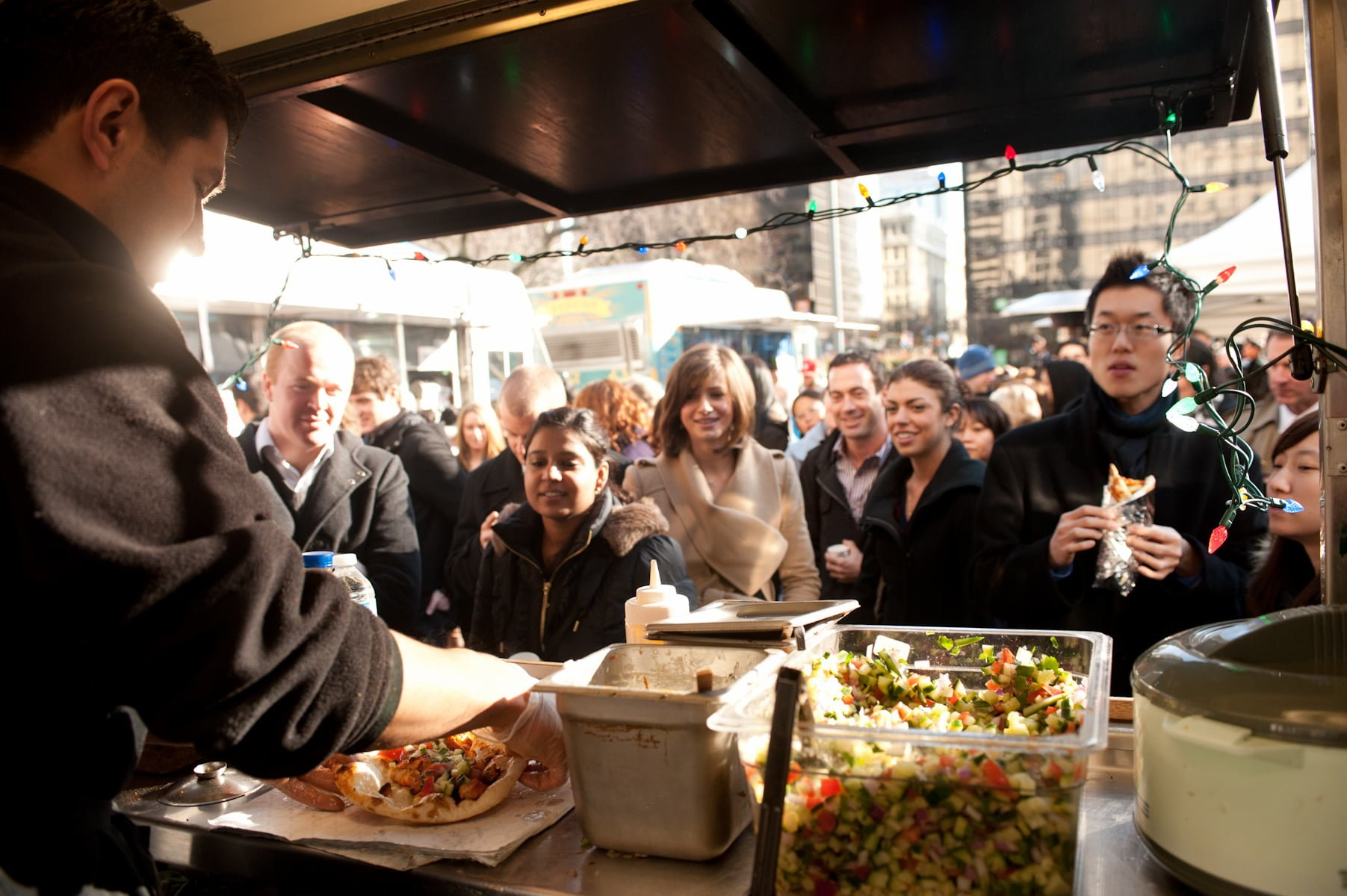 Food Trucks Return For Street Food City At The Vancouver Art Gallery