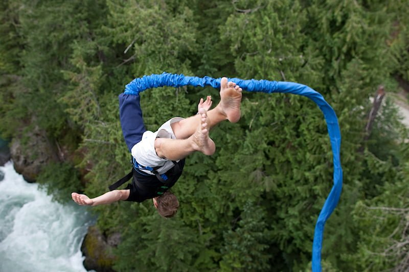 The Whistler Bungee Experience