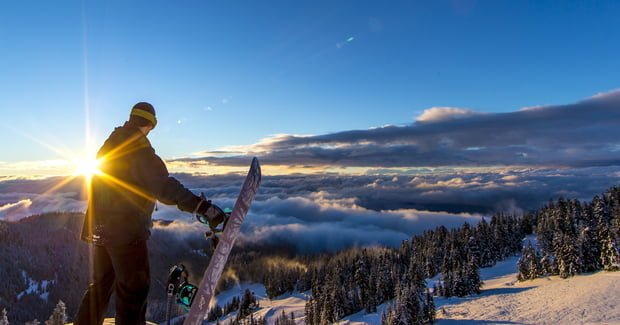 24 Hours of Winter At Grouse Mountain