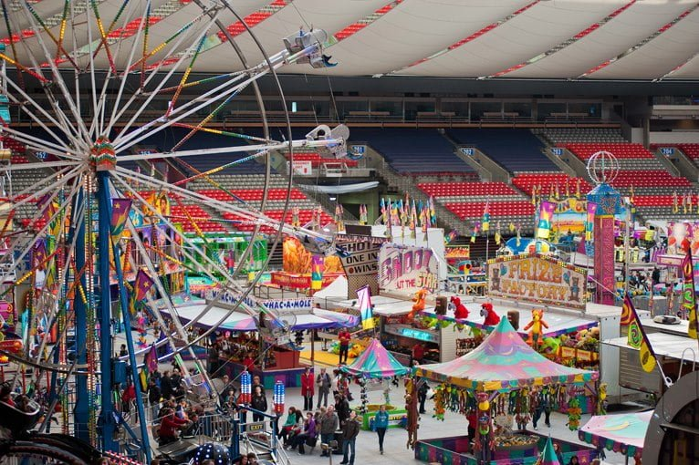 PlayDome Returns To BC Place March