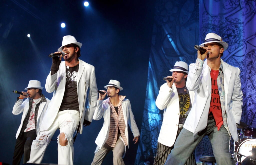 BackStreet Boys Concert At Rogers Arena 2014