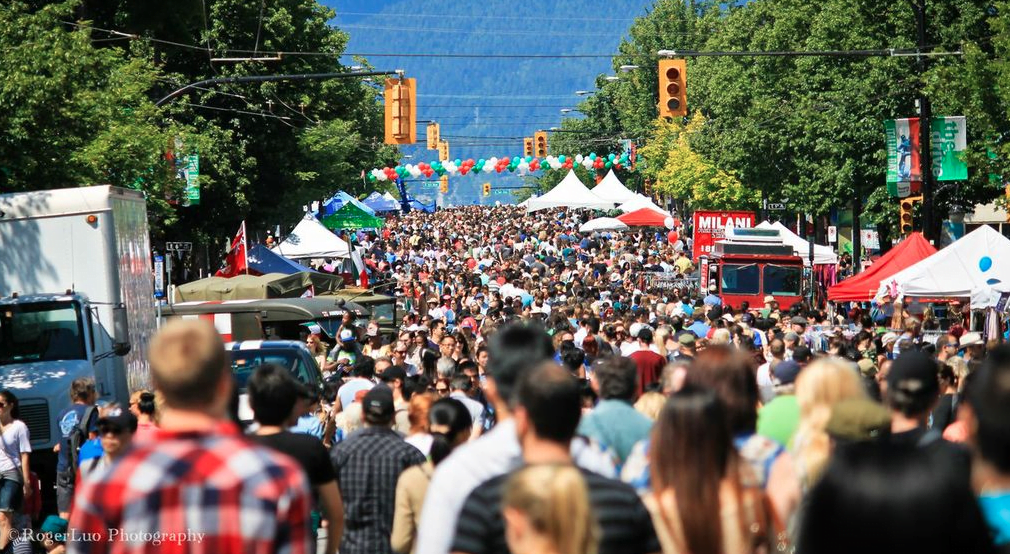 'Little Italy' Italian Day On Commercial Drive 2015