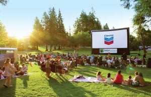 Cinema Under The Stars - outdoor movies Langley