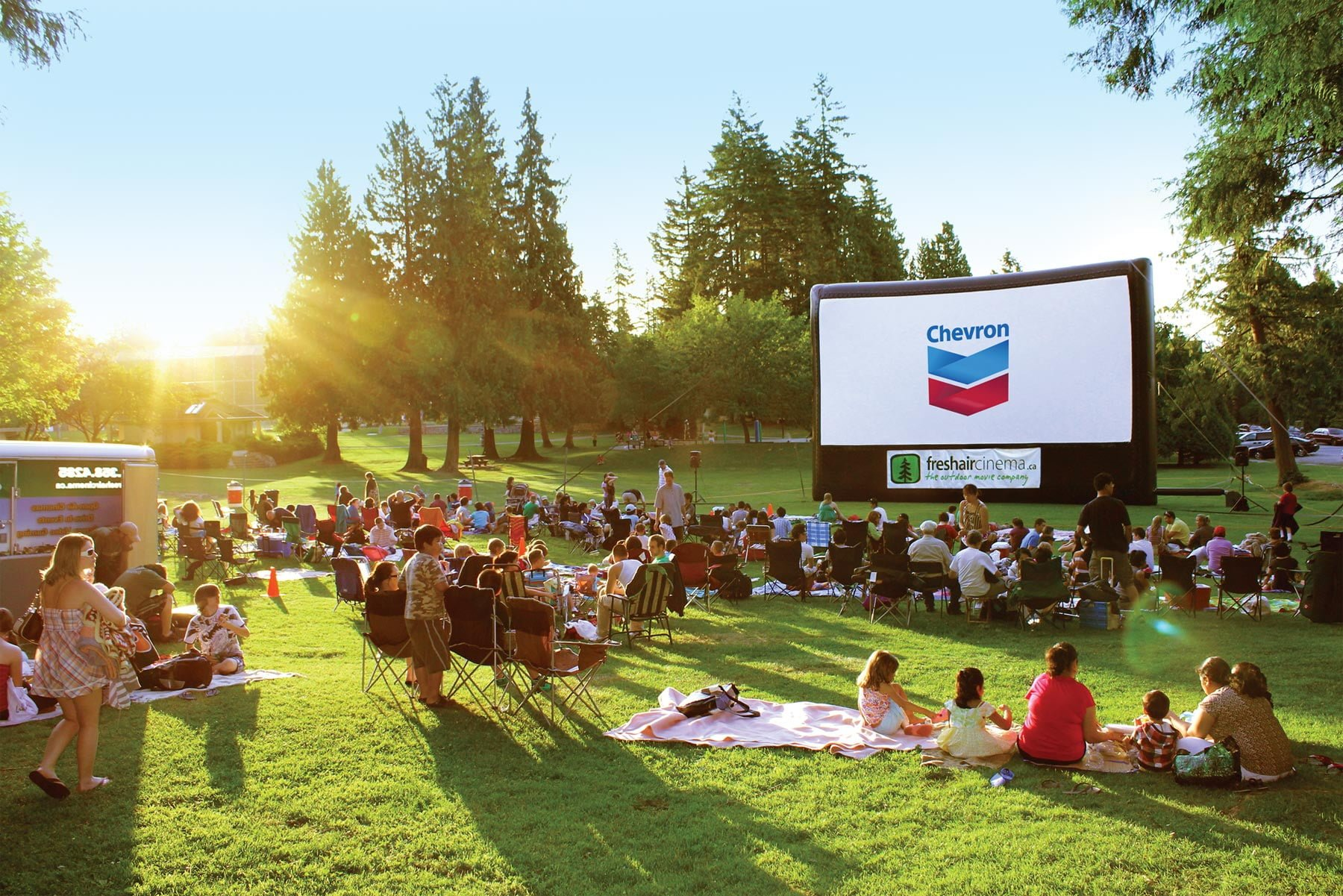 Cinema Under The Stars - outdoor movies Langley / Outdoor Date