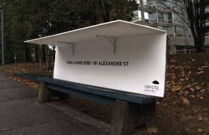 Vancouver Receives International Love For Homeless Benches