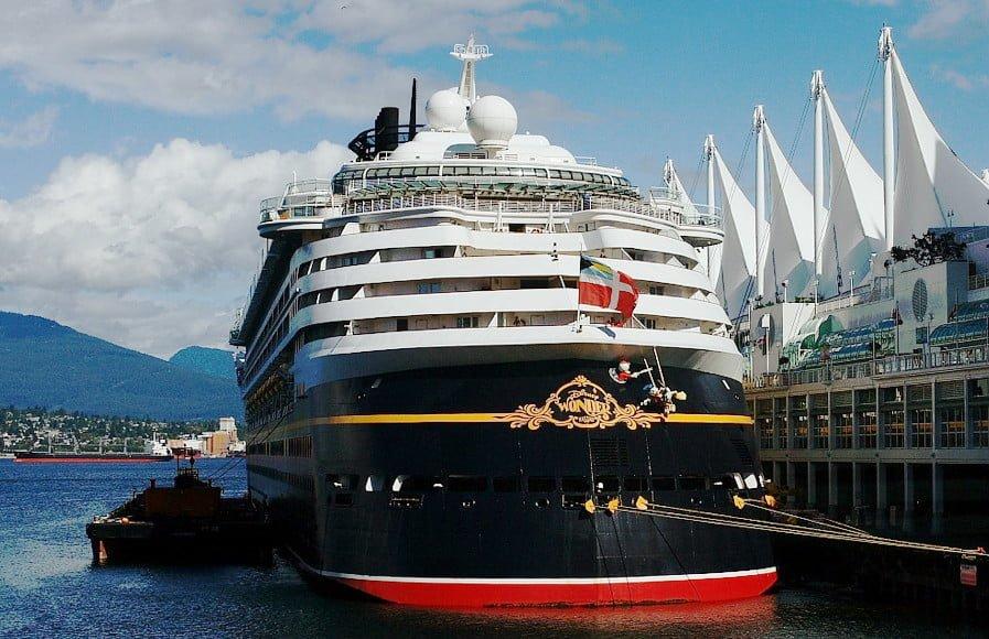 Disney Wonder Cruise Ship Visits Vancouver | PHOTOS