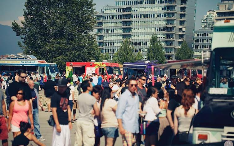 Vancouver Surrey Food Cart Fest 2015