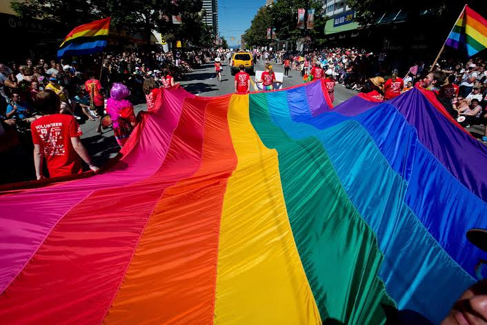 In August there is Gay Pride the best event to