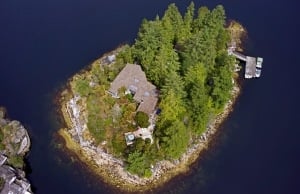 B.C. Island On Sale For A Cool $4 Million