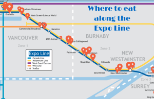 Places To Eat Near Skytrain Stations – Expo Line