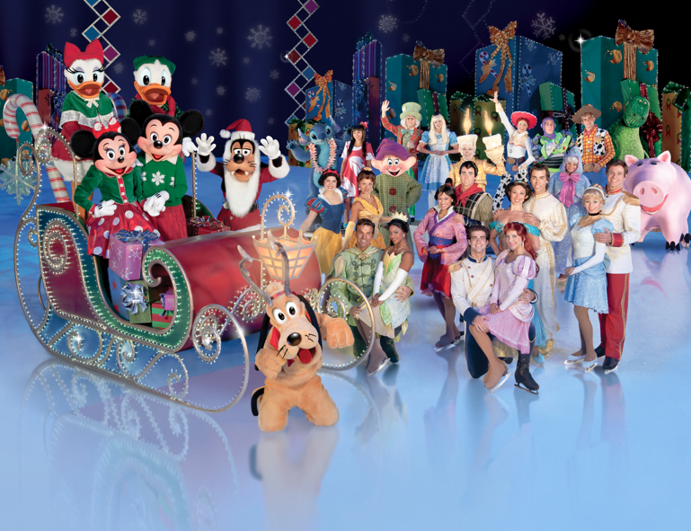 Disney On Ice: Let's Party Vancouver Show