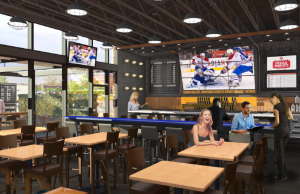 New Urban Boston Pizza Opens Doors In Vancouver With The Largest Projection Screen in Canada
