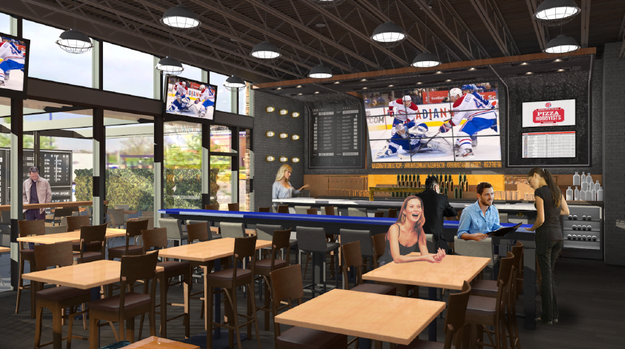 New Urban Boston Pizza Opens Doors In Vancouver With The Largest Tv Screen In Canada 604 Now
