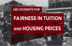 UBC Proposes An Increase In Residence and International Tuition Fees