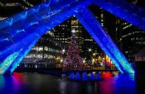 Vancouver Christmas Tree Lighting at Jack Poole Plaza 2014