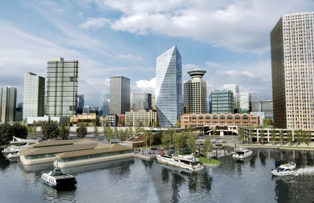 "New 26 Storey ""Waterfront Tower"" Proposed For Gastown"
