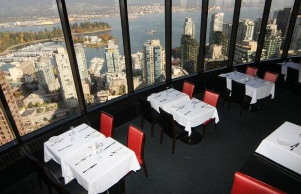 5 Romantic Restaurants in Vancouver