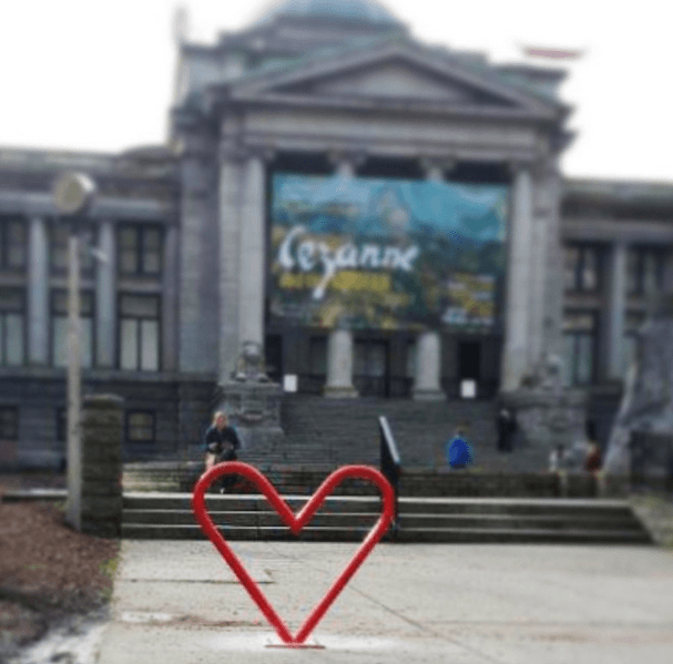 Heart Shaped Bike Racks Are Being Installed In Vancouver