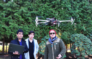 SFU Students Use 3D Printer To Build High Flying Drone