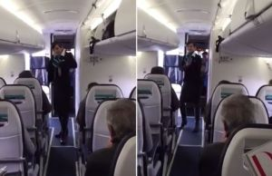 Video Of Canadian Flight Attendant Dancing To 'Uptown Funk' Goes Viral