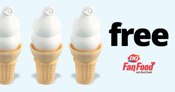dairy queen free cone day 2020