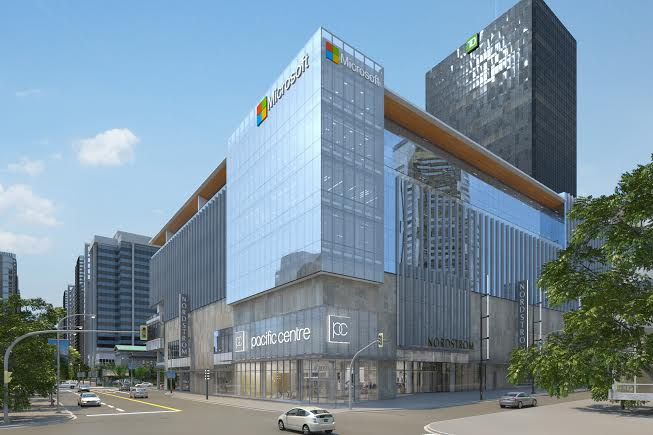 Ted Baker London, Microsoft + More To Open At Pacific Centre