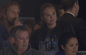 Kate Upton Spotted At The Vancouver Canucks Game