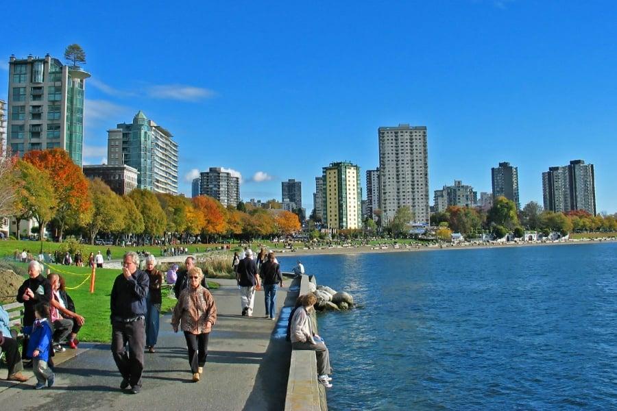 Sunset Beach Park Toronto