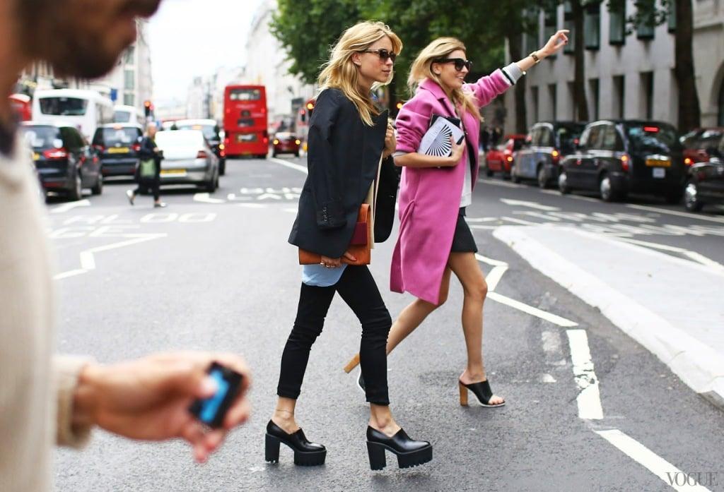 Модная обувь с чем носить