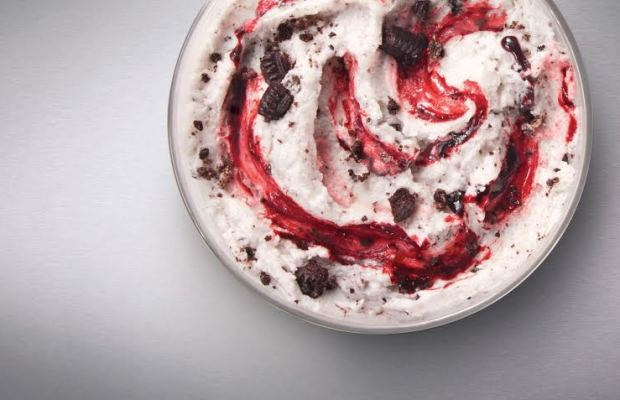 Red Velvet Oreo McFlurry - McDonald's Food To Giveaway Free McFlurries In Vancouver