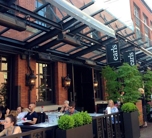 Best patios in yaletown vancouver now