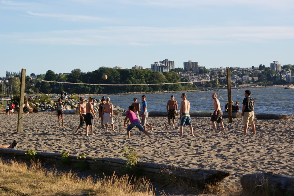 Best Spots For Beach Volleyball In Vancouver