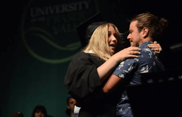 UFV Student Gets Proposed To During Graduation Ceremony (Video)