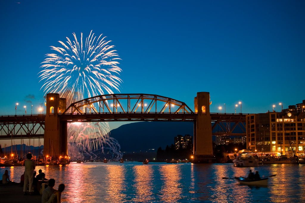 10 Best Spots To Watch Vancouver Celebration Of Lights Fireworks