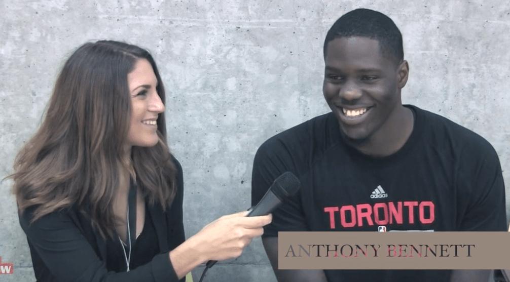 Behind The Scenes: Toronto Raptors Visit Vancouver