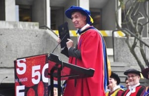 Bill Nye The Science Guy Receives Honorary Degree From SFU
