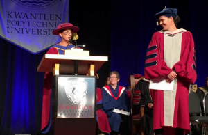 Christine Sinclair Receives Honorary Degree From Kwantlen