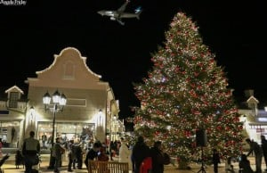 McArthurGlen Rings In Holidays With 45-Foot Christmas Tree