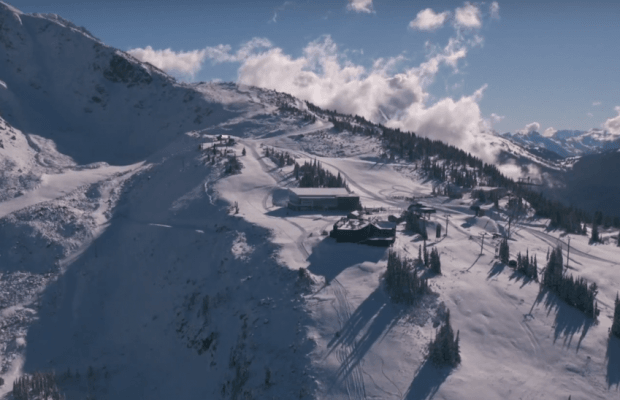 Helicopter Shares Footage Of Whistler's First Tracks Of 2015/16