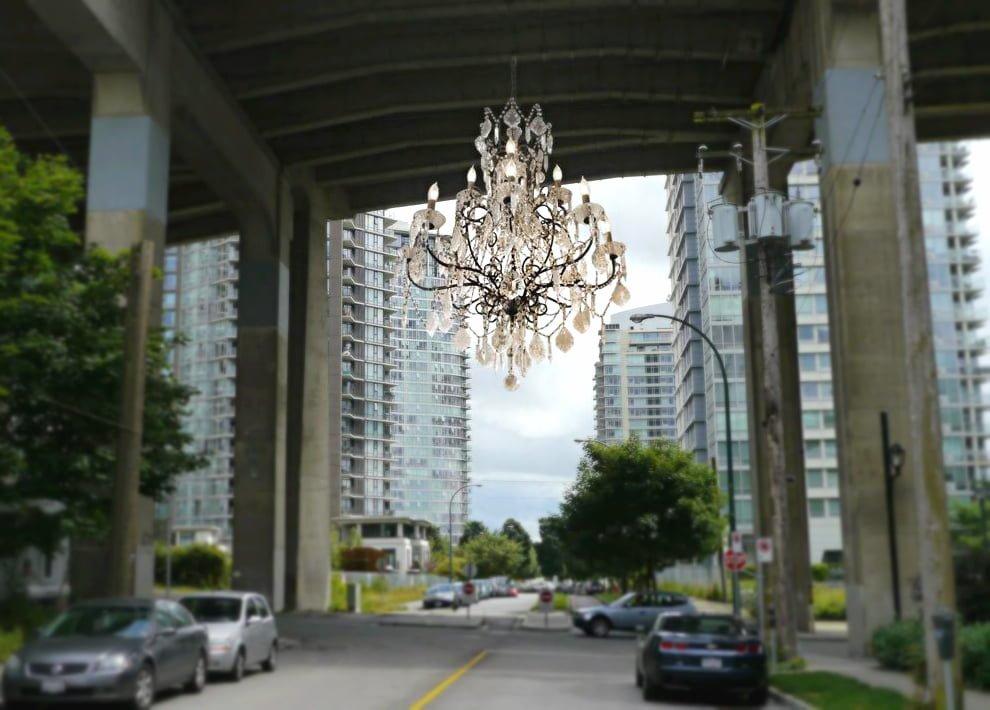 Massive $1.2 Million Chandelier Approved For Granville Street Bridge