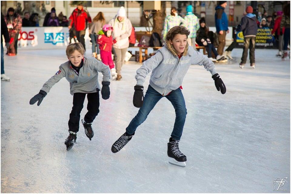 ice skating rinks