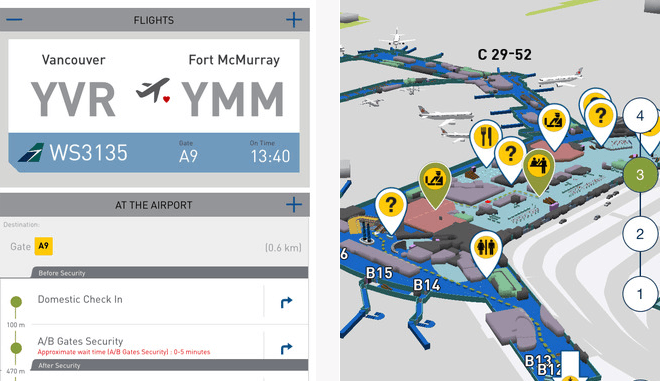 YVR Launches New Airport App
