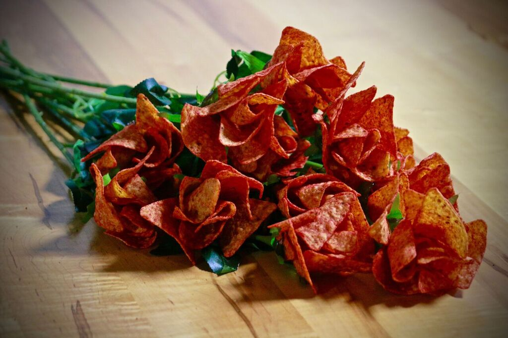 Doritos Is Giving Away Rose Bouquets Made From Chips